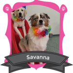 Our July Camper of the Month is Savanna