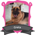 Our March Camper of the Month is Greta